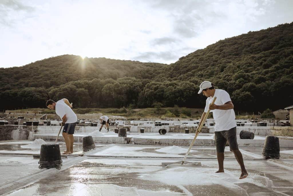 Visita a la salinera Gironés, producción histórica y artesanal de sal.